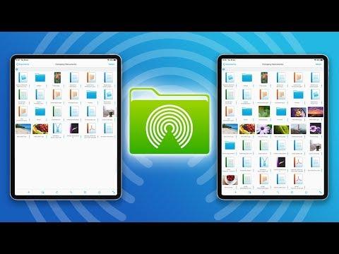 How to AirDrop Folders Between iPads