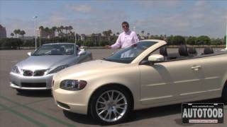 Lexus IS C vs Volvo C70 Convertible