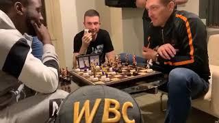 "УСИК vs КРОУФОРД 🇺🇦👑🇺🇸 ""Абсолюты"" зарубились в шахматишки!"