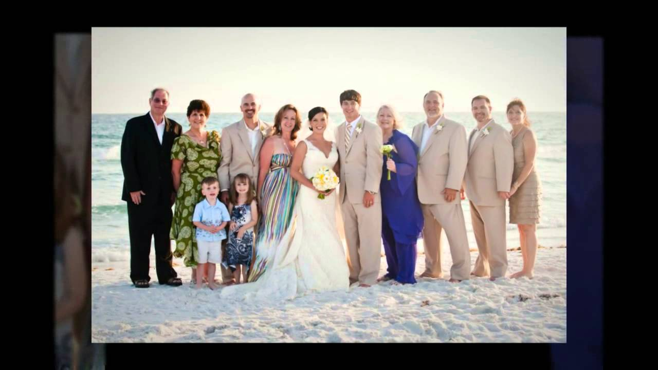 Beach Wedding At Grayton Florida Lacey Marty