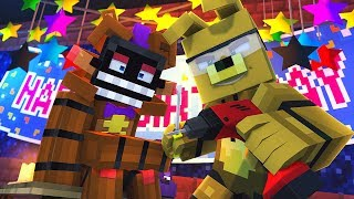 Minecraft FNAF 6 Pizzeria Simulator - AFTONS SECRET! (Minecraft Roleplay)