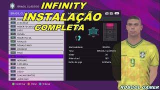 INFINITY PATCH - INSTALAÇÃO PASSO A PASSO - PES 2018 - XBOX 360
