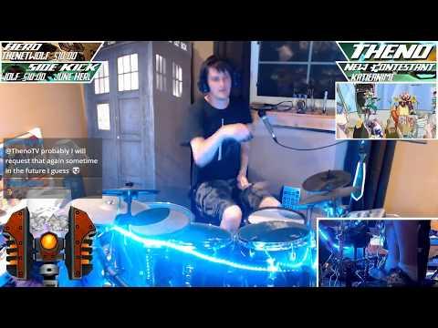 [Twitch: ThenoTV] - (drum)--(initial attempt) -- Nyanyanyanyanyanyanya! -- (Project Diva version)