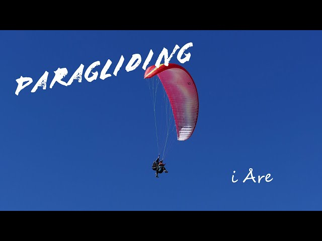 Paragliding i Åre 2021