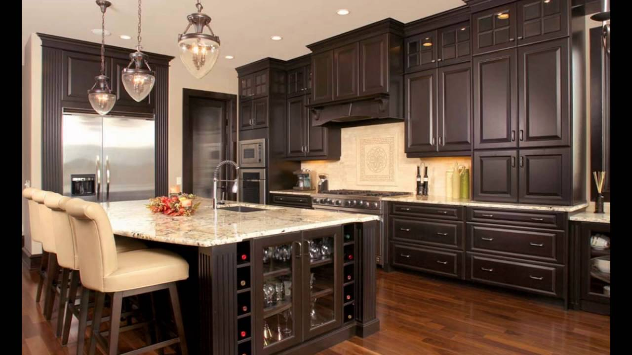 kitchen cabinets colors - YouTube