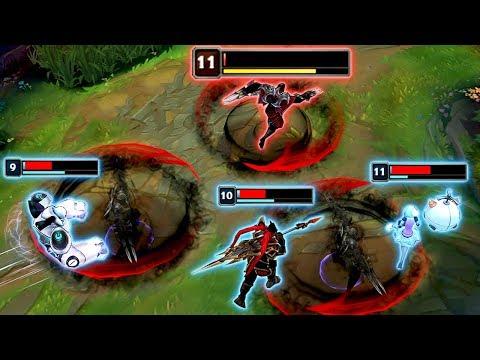"NEAR DEATH MONTAGE - Best ""1 HP"" Outplays - League Of Legends"