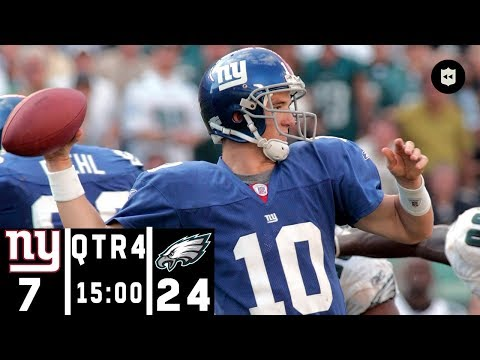 Giants vs. Eagles: A Classic NFC East 4th Quarter Comeback | NFL Throwback