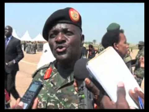 Gulu airforce base commissioned
