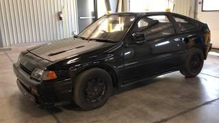 1987 Honda CR-X Si JDM barn find