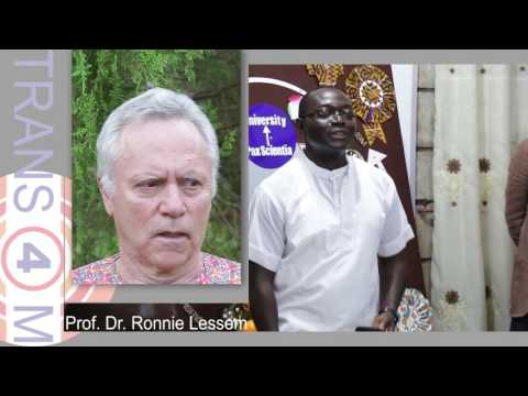 Interview of Ronnie: Ronnie Lessem on Societal Renewal for Africa