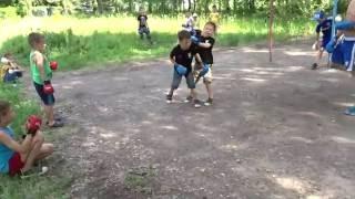 Спаринги каратэ-дети спортивный лагерь 23.06.16