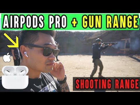 AirPods Pro REVIEW: Shooting Range, Does It Work?