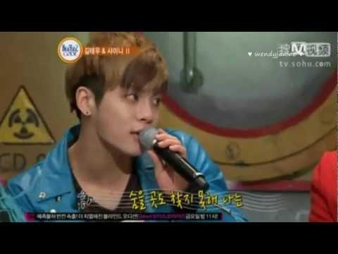 "130313 SHINee Jonghyun acoustic version of Lucifer ""Beatles Code 2"""