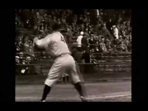 Lou Gehrig's TWO Big Baseball Swing Surprises In The Batter's Box