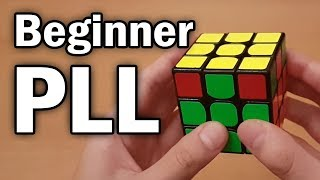 Rubik's Cube: Easy 2-Look PLL Tutorial (Beginner CFOP)