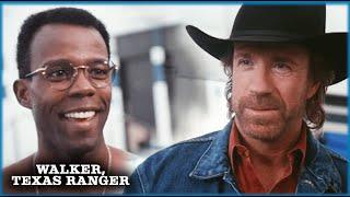 Walker And Trivette's First Meeting  | Walker, Texas Ranger