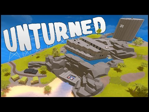 OUR BEST BASE EVER! (Unturned Building)
