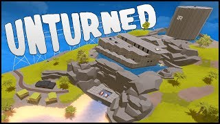 OUR BIGGEST AND BEST BASE EVER! (Unturned Building)