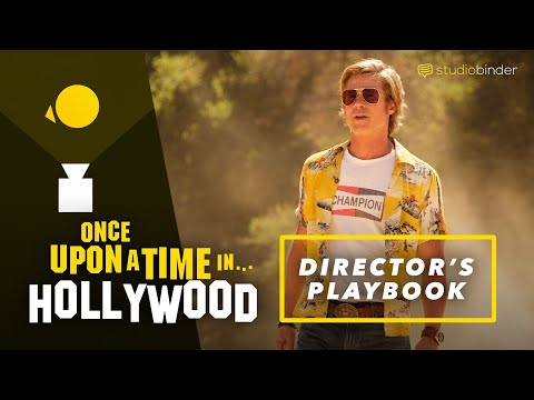 Once Upon A Time In Hollywood — How Tarantino Directs Suspense [Director's Playbook]