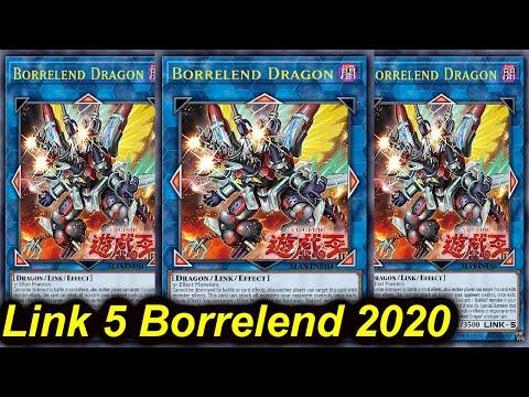 【YGOPRO】LINK 5 BORRELEND DRAGON DECK 2020
