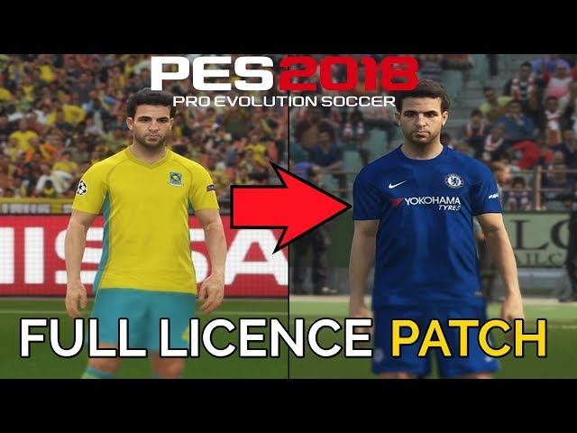 pes 2018 licenses patch ps4