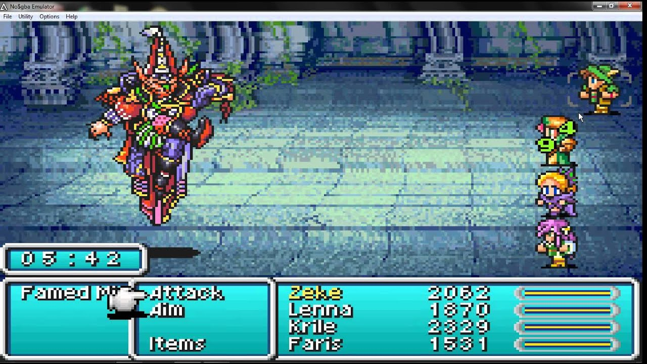 final fantasy 5 advance how to get mime class youtube