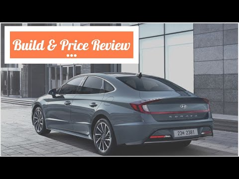 2020 Hyundai Sonata Limited - Build & Price Review: Features, Colors, Configurations, Safety, Design