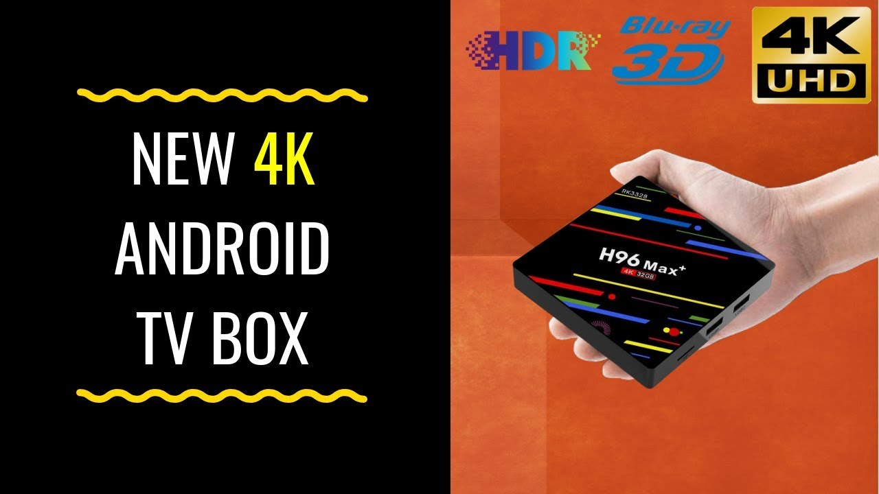 H96 MAX PLUS 4K ANDROID 8 1 TV Box Full Review TO INSTALL KODI BUILDS APRIL  2019