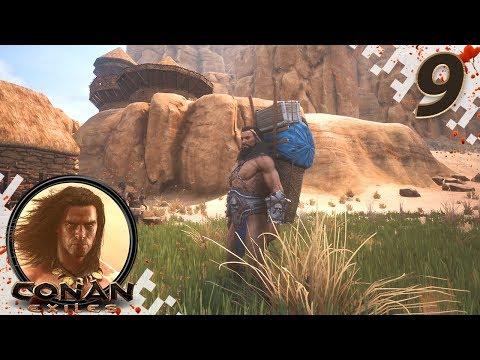 CONAN EXILES (NEW SEASON) - EP09 - Backpack Adventure! (Gameplay Video)