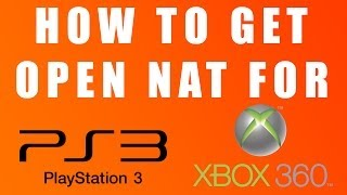 How to Change Your NAT Type for PS3 & Xbox