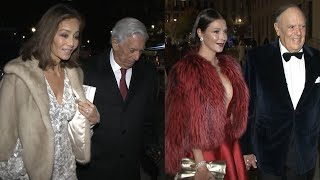 Isabel Preysler y Esther Doña, duelo de elegancia en el Teatro Real
