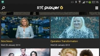 RTE Player App for Android Review - Very Impressive Video Player!
