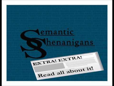 Semantic Shenanigans Extras - Crowdfunding Follies - Caveat Donator