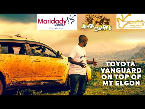 4X4 MT. ELGON CHALLENGE - TOYOTA VANGUARD REVIEW