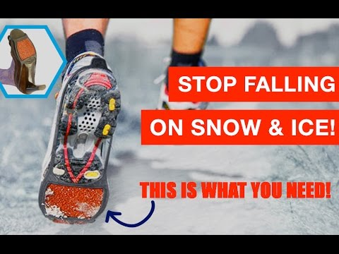 New Ice Grips For Shoes Snow Slippery Floors Product Review