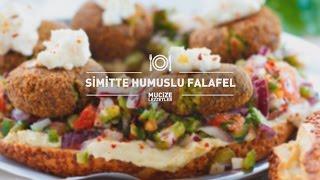 Simitte Humuslu Falafel Tarifi #mucizelezzetler