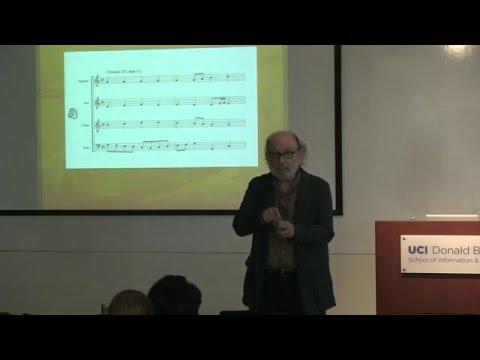 """Computer Synthesis of Musical Creativity"" David Cope,  UC Santa Cruz"