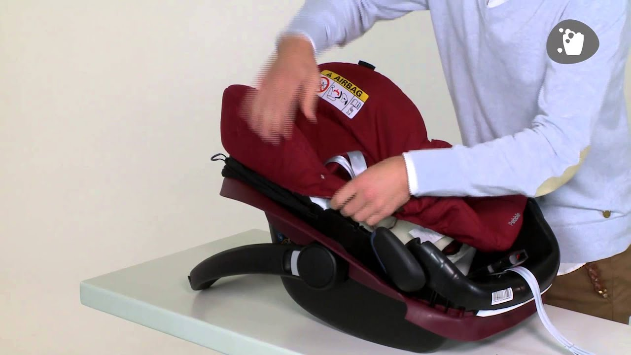 Maxi cosi how to wash and clean your pebble cover youtube for Housse maxi cosi cabriofix