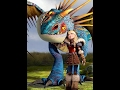 Httyd | Astrid and Stormfly tribute