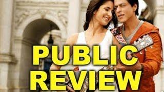 Jab Tak Hai Jaan Public Review | Shah Rukh Khan | Katrina Kaif | Anushka Sharma | Yash Chopra