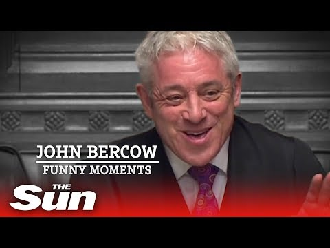 6 times John Bercow left the House in stitches