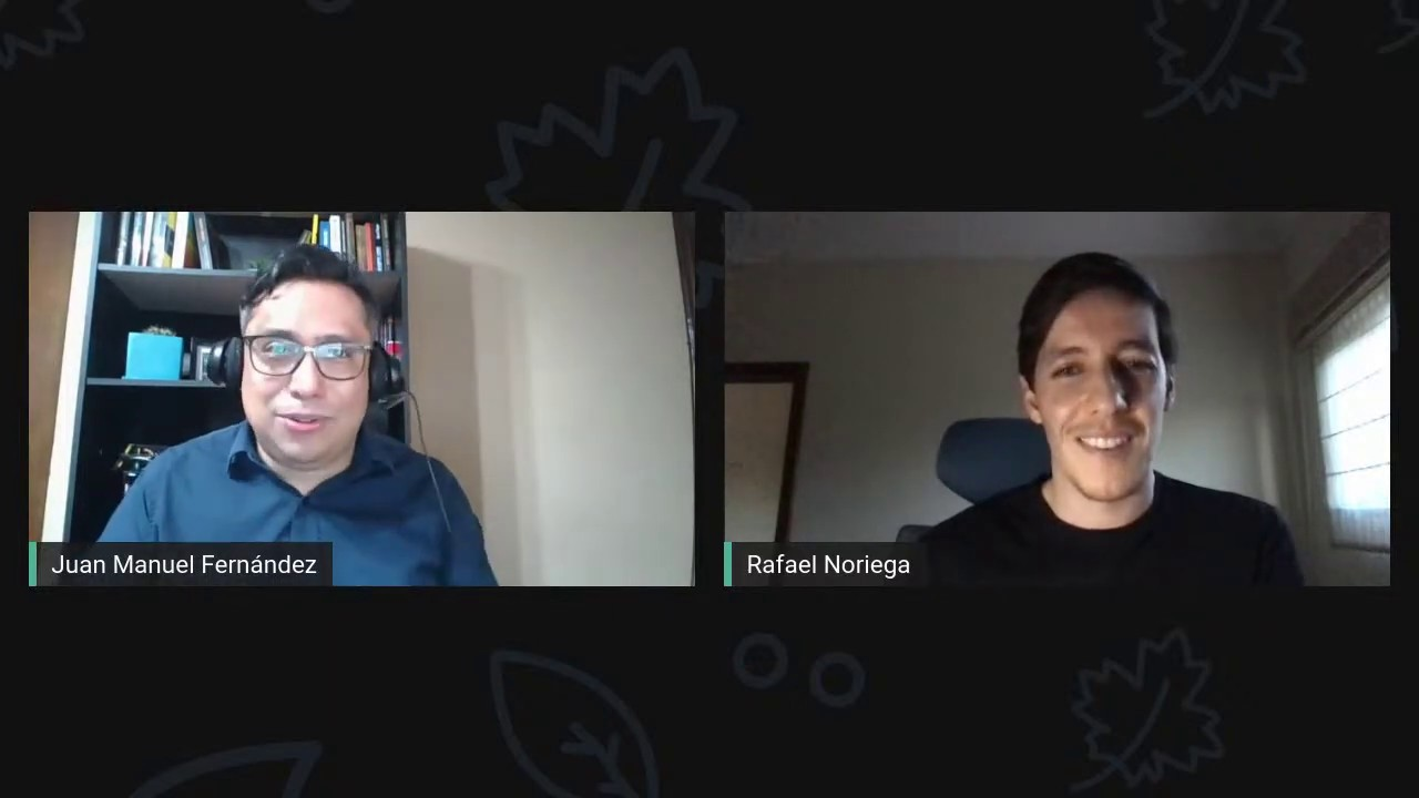 Rafael Noriega muestra cómo usar un chatbot para hacer negocios