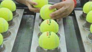 Изготовление теннисных мячей