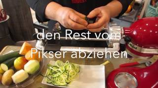 KitchenAid Spiralizer Attachment - Carl Tode Göttingen