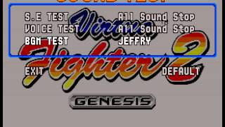 Virtua Fighter 2 - Virtua Fighter 2(Genesis/MD) Music - Jeffry/Wolf Stage (Mega Video Competition) - User video
