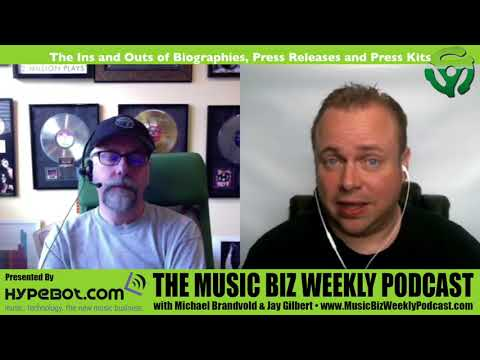Ep. 312 The Ins and Outs of Biographies, Press Releases and Press Kits