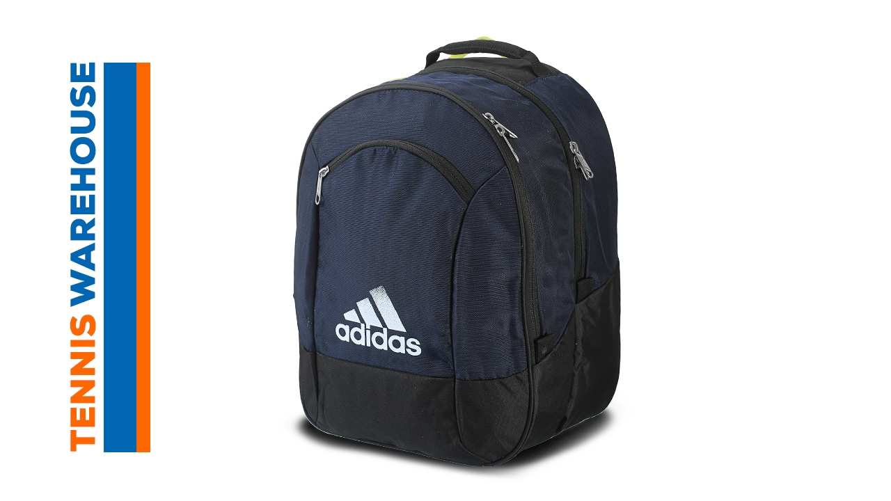 64e3c340b535 adidas Striker Team Backpack Bag - YouTube