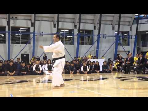 Saisan Karate Kata Nikkei Karate 2015