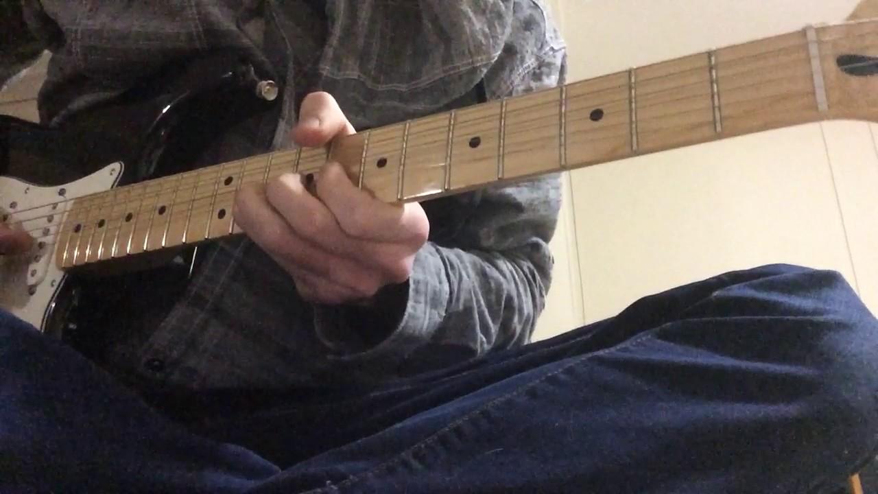 John Mayer Aint No Sunshine Solo Lesson Tutorial