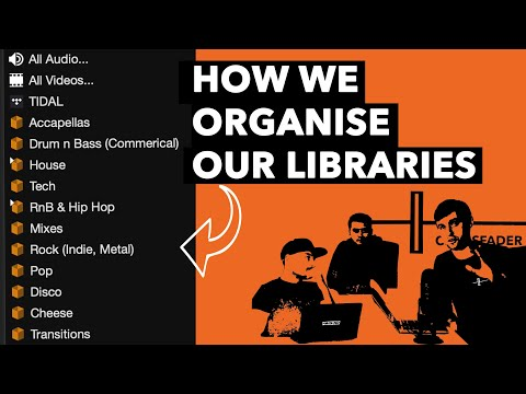 How DJ's Organise Their Music Libraries - DJ Tutorial